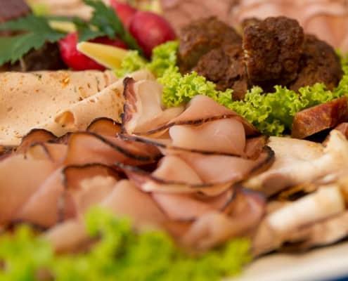 Partyservice und Catering Sommerkorn München - Wurstplatten