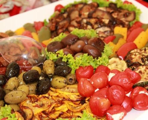 gegrilltes Gemüse - Partyservice und Catering Sommerkorn München
