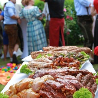 Partyservice und Catering Sommerkorn München - Grillfleisch