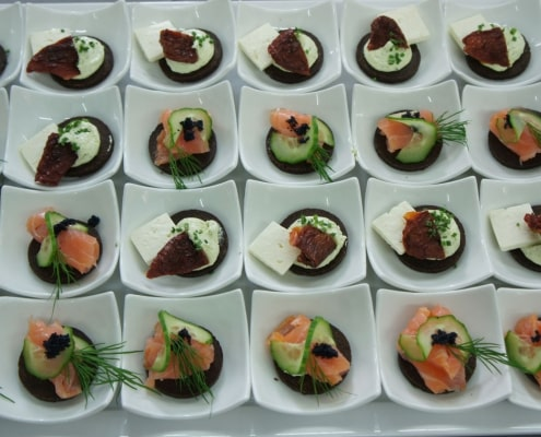Fingerfood Canapés, Catering München