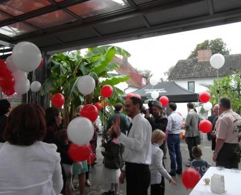 Party im Palmenhaus