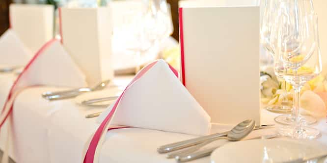 Gala-Hochzeitsbuffet
