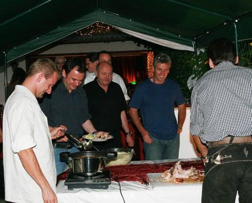 Partyservice und Catering Sommerkorn München - Grillabend