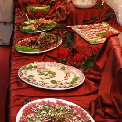 Vorspeisenbuffet Partyservice und Catering Sommerkorn München