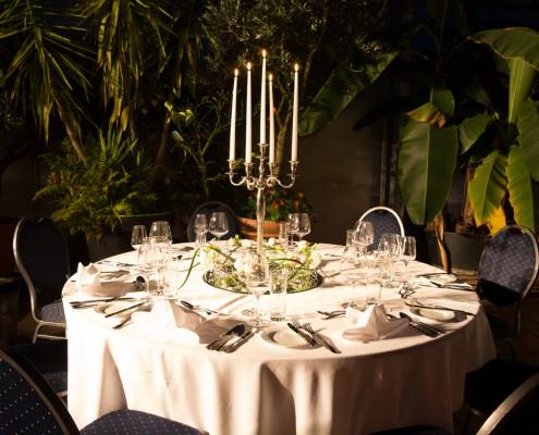 Palmenhaus München mit Catering von Sommerkorn Catering & Partyservice München