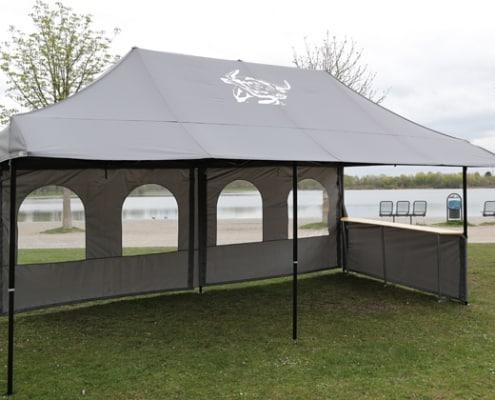 Zelte, Partyzelte, 6 x 3 Meter, Catering München, Partyservice München